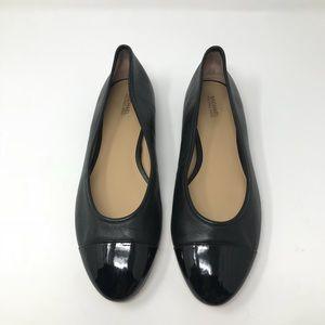 Michael Kors Flats Black Size 10 Leather